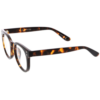 Retro Dapper Hipster Indie Horned Rim Clear Lens Glasses C388