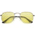 Retro 90's Geometric Hexagon Color Tinted Lens Sunglasses C454