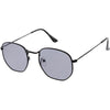 Retro Modern Indie Dapper Geometric Metal Sunglasses C478