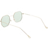 Premium Retro Small Octagon Color Tone Lens Sunglasses C493