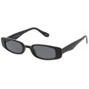 Retro 1990's Thin Rectangle Fashion Sunglasses C547