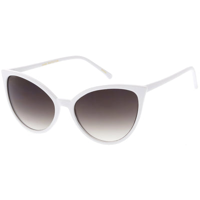 Women's Angular Pointed Cat Eye Retro Sunglasses C554