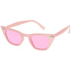 Women's Color Tone 90's Small Cat Eye Sunglasses C563