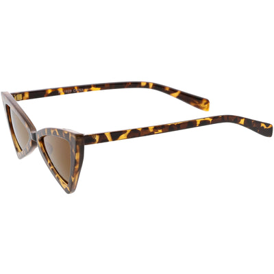 Women's Fashion Retro Triangle Cat Eye Sunglasses C570