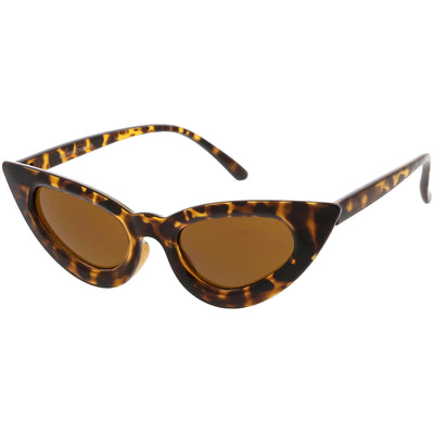 Women's Festival Retro Oval Cat Eye Sunglasses C572