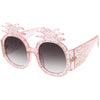 Festival Handmade Novelty Rhinestone Pineapple Sunglasses C608