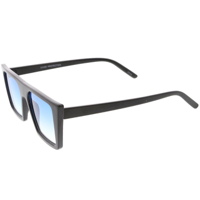 Retro Modern Flat Top Color Tone Sunglasses C618