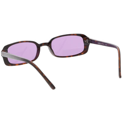 Retro Dead Stock Small Square Color Tone Lens Sunglasses C641