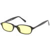 Small Retro Rectangle Color Tone Dead Stock Sunglasses C642