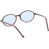True Retro Oval Color Tone Indie Sunglasses C643