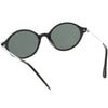 Small European True Vintage Oval Indie Dapper Sunglasses C646