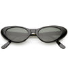 Women's Small Retro True Vintage Cat Eye Sunglasses C661