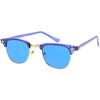 True Vintage Half Frame Color Frame And Lenses Sunglasses C668