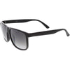 Men's Oversize Horned Rim Mirrored Lens Aviator Sunglasses C689