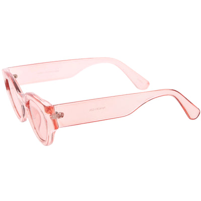 Retro Bold Translucent Color Tone Cat Eye Sunglasses C695