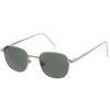 Deadstock True Vintage Square Metal Dapper Sunglasses C717