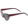 Women's Retro 1950's Oversize Cat Eye Sunglasses C750