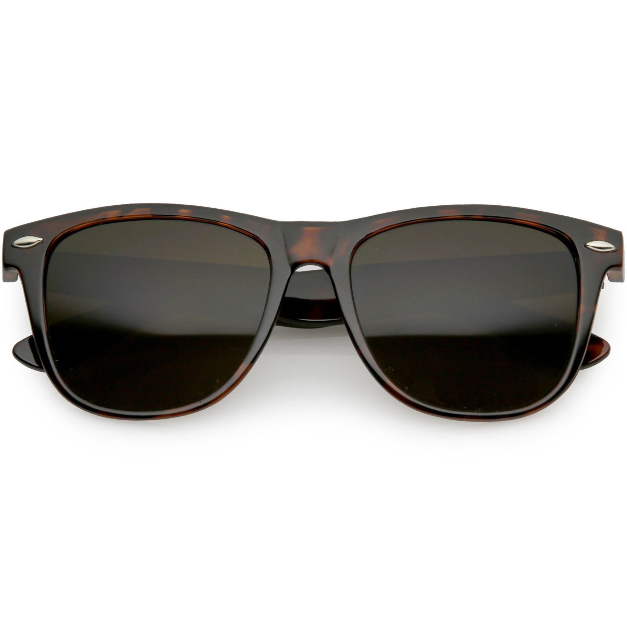Classic Retro Indie Classic Horned Rim Sunglasses 54mm C767