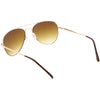 Small Classic Metal Gradient lens Aviator Sunglasses C782