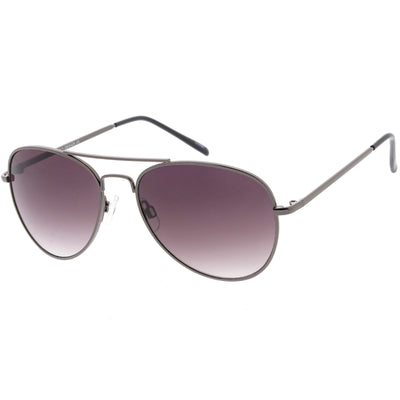 Medium Classic Retro Metal Frame Aviator Sunglasses 53mm 1372