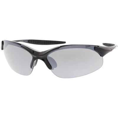 High Performance TR-90 Sports Shield Mirrored Lens Sunglasses C804