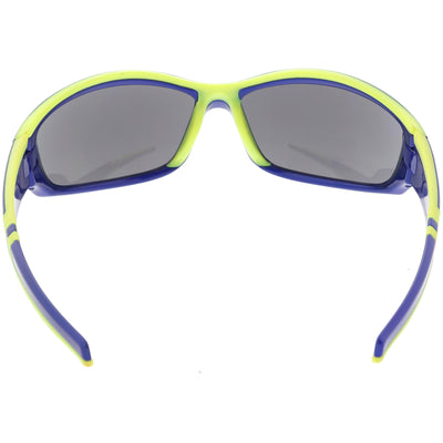 Performance TR-90 Sports Wrap Around Sunglasses C812