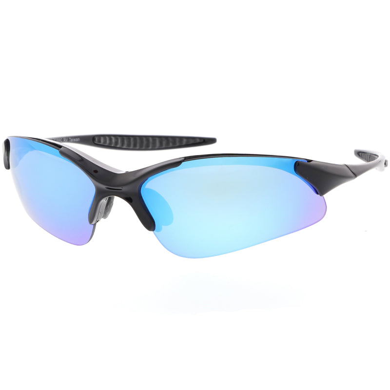 Performance Cycling Running Light Weight TR-90 Mirrored Lens Sunglasses C813