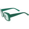 Women's Retro Rectangle 1950's Fashion Sunglasses C832