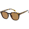 Retro Modern Horned Rim Flat Lens Dapper Sunglasses C835