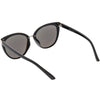 Women's Retro 1950's Oversize Thin Cat Eye Sunglasses C840