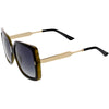 Women's Premium Oversize Square Polarized Lens Sunglasses C884