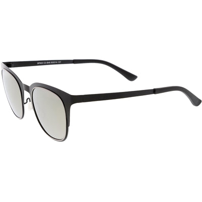 Classic Horn Rimmed Metal Square  Polarized Lens Sunglasses C888