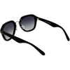 Women's Oversize Designer Geometric Polarized Lens Sunglasses C895