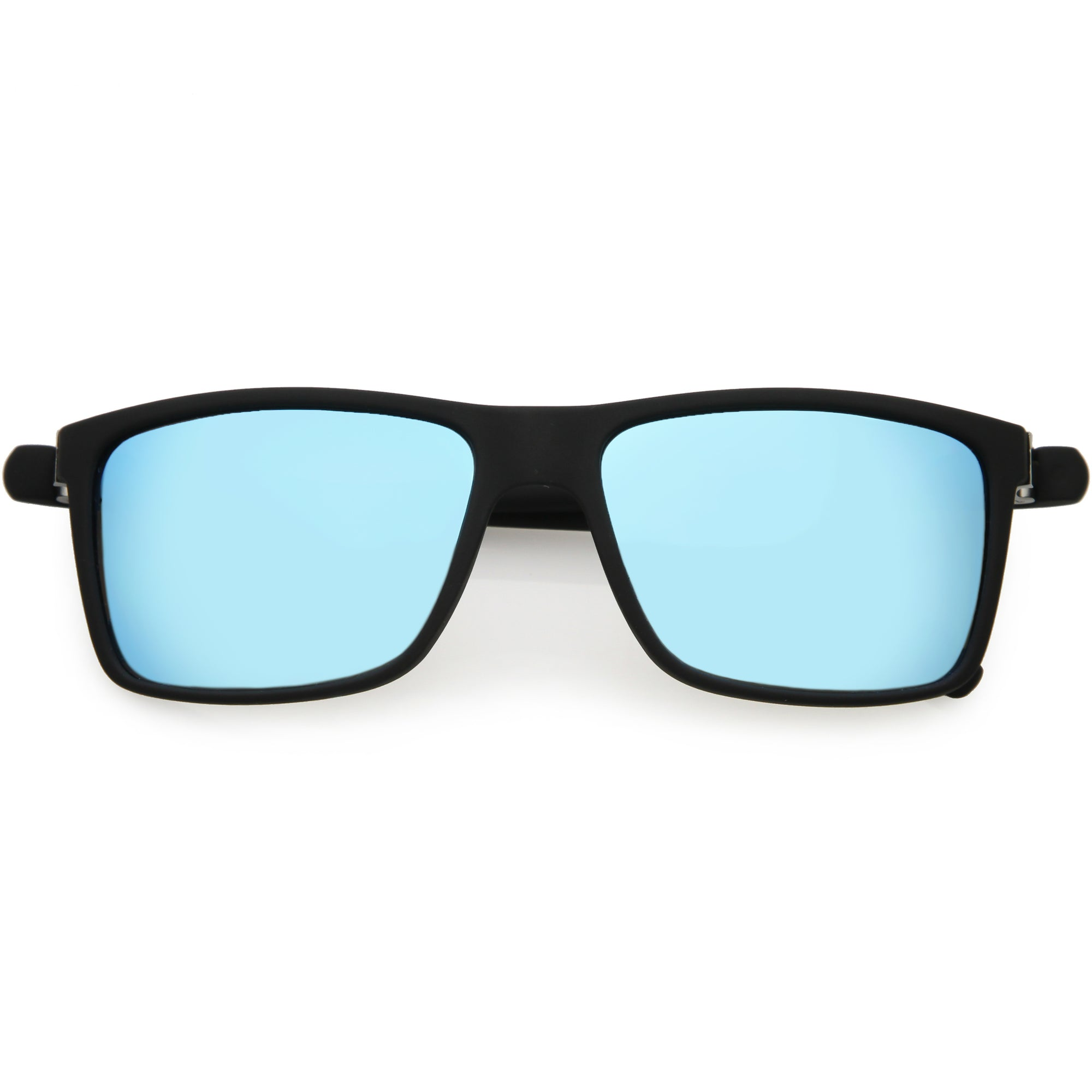 Matte Slim Arms Polarized Lens Square Sunglasses C902