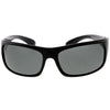Active Lifestyle Polarized Lens Sports Wrap Rectangle Sunglasses C903