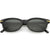True Vintage Dapper Dead Stock Small Horned Rim Sunglasses C904