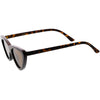 Polarized Neutral Colored Lens Small Thick Cat Eye Sunglasses C927