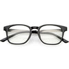 Classic Anti Blue Light Square Horn Rimmed Blue Blocking Computer Glasses C929