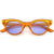 Women's Retro 1990's Small Color Tone Lens Cat Eye Sunglasses C940