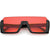 Mid Century Retro Color Tone Slide In Color Tone Lens Sunglasses C954