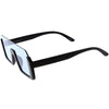 Retro Color Tone Mono Lens Shield In Color Lens Sunglasses C954