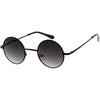 Retro Small Lennon Style Neutral Colored Lens Round Sunglasses 42mm C997