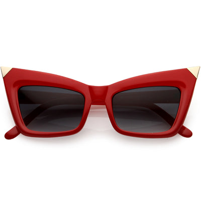 Hot Tip Super Pointed Cat Eye Sunglasses 8181