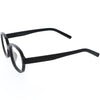 Classic Basic Lifestyle Dapper Inspired Oval Blue Light Glasses D091