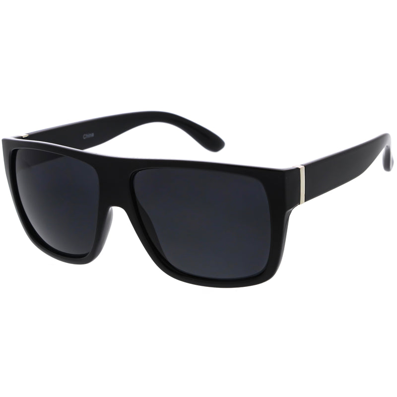 Classy Everyday Action Sports Flat Top Square Sunglasses D111