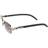 Double Rhinestones Decorated Premium Square Sunglasses D128