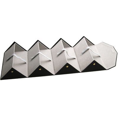 Chic 4 Piece Fold-Up Travelling Sunglasses Case D200