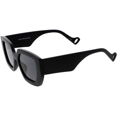 High Fashion Square Thick Rimmed Chunky Sunglasses D236