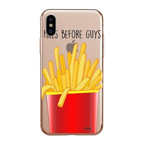 FRIES BEFORE GUYS - IPHONE CLEAR CASE