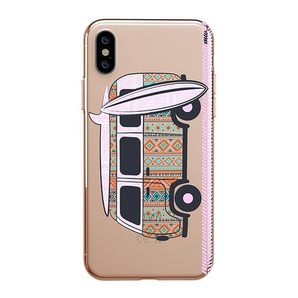HIPSTER VAN - IPHONE CLEAR CASE